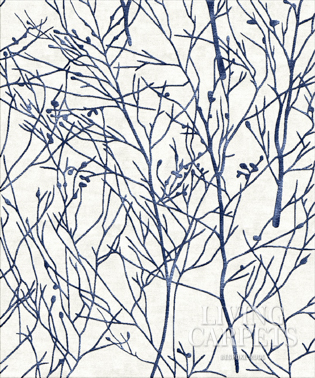 BRANCHES white blue