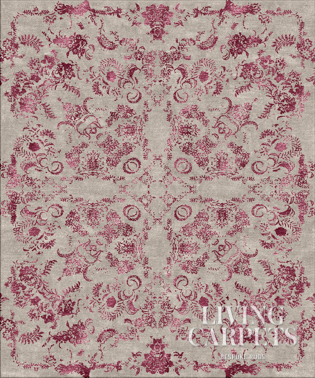 KIRMAN mauve red