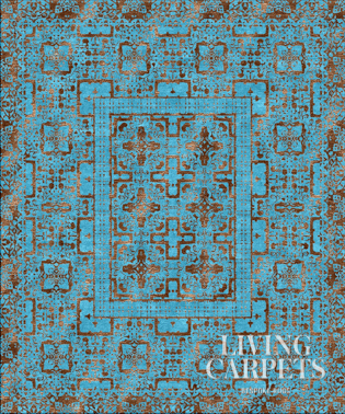 SAMARKAND turquoise brown
