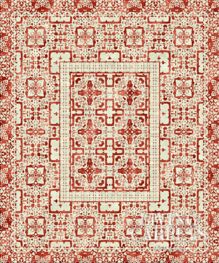 SAMARKAND white red